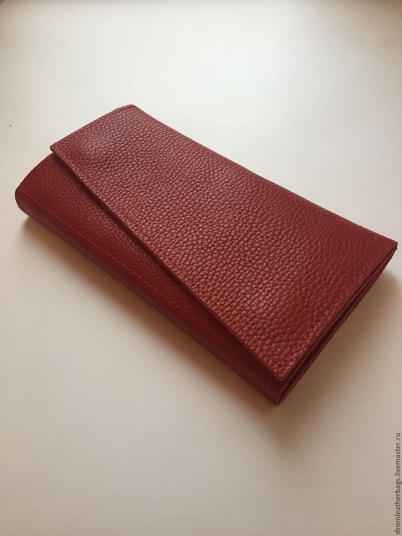 Сумки для ноутбуков ручной работы. Ярмарка Мастеров - ручная работа. Купить Клатч-кошелек из натуральной кожи ручной работы DROM. Handmade.