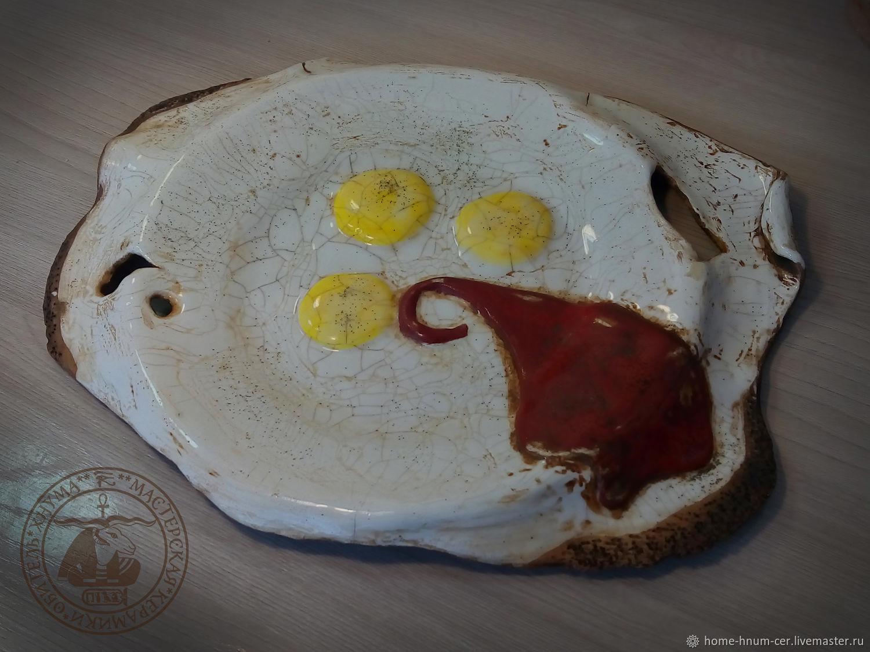 "Блюдо ""Яичница Сальвадора"", Тарелки, Новосибирск,  Фото №1"
