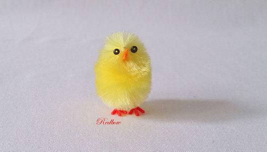 Материалы для флористики ручной работы. Ярмарка Мастеров - ручная работа. Купить Цыпленок, 3 размера. Handmade. Цыпленок, цыплята в гнезде
