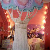Для дома и интерьера ручной работы. Ярмарка Мастеров - ручная работа Дерево перегородка. Handmade.