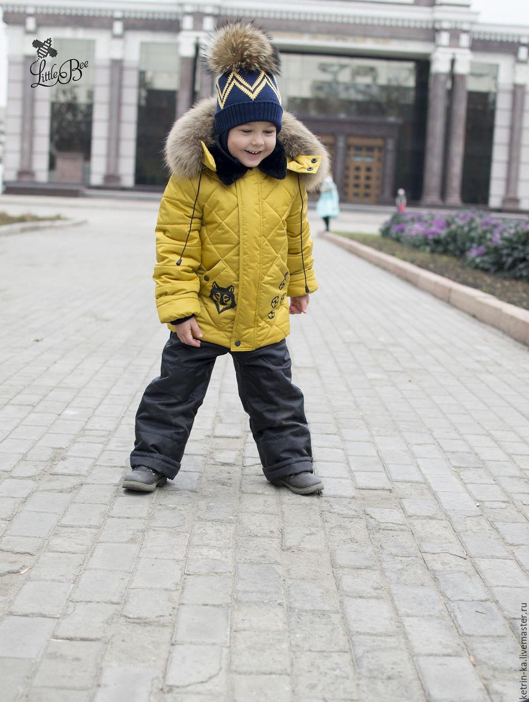 Зимний костюм для мальчика, цвет горчица, Одежда для мальчиков, Пенза, Фото №1