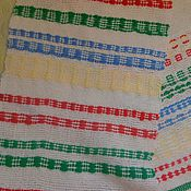 Русский стиль handmade. Livemaster - original item Homespun towel - towel No. 1. Handmade.
