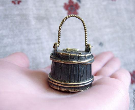 Колокольчики ручной работы. Ярмарка Мастеров - ручная работа. Купить Бронзовый Колокольчик оригинальной формы кадушка металлический. Handmade. Бронза