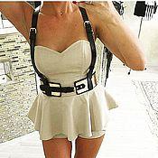 Аксессуары handmade. Livemaster - original item Belt mirror belt. Handmade.