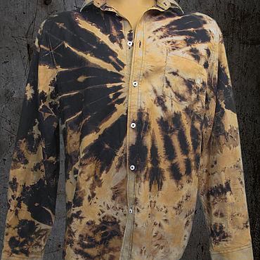 """Одежда ручной работы. Ярмарка Мастеров - ручная работа Рубашка мужская """"Corten #0022"""". Handmade."""