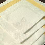 Для дома и интерьера ручной работы. Ярмарка Мастеров - ручная работа салфетки льняные в наборе. Handmade.