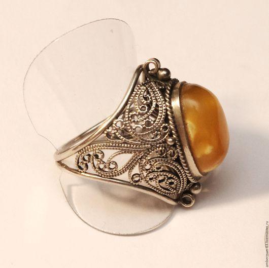 """Кольца ручной работы. Ярмарка Мастеров - ручная работа. Купить Кольцо  """"Апрель"""". Handmade. Украшения ручной работы, природный янтарь"""