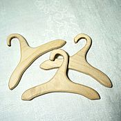 Куклы и игрушки handmade. Livemaster - original item Wooden hangers for doll westalke (for the basic version). Handmade.