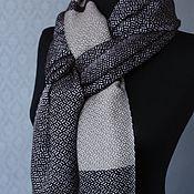 Аксессуары handmade. Livemaster - original item Woven patterned scarf