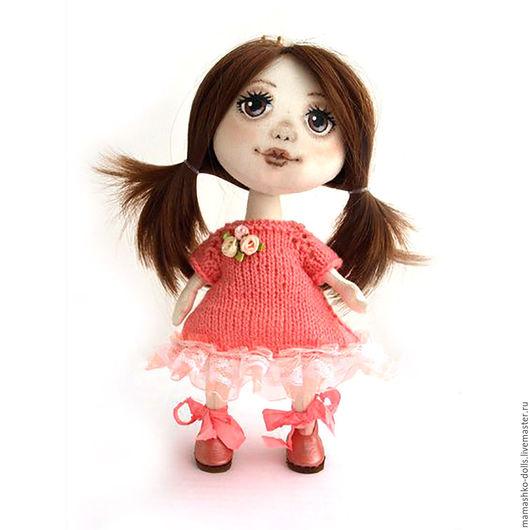 Коллекционные куклы ручной работы. Ярмарка Мастеров - ручная работа. Купить Текстильная кукла из ткани с расписанным лицом Принцесса. Handmade.