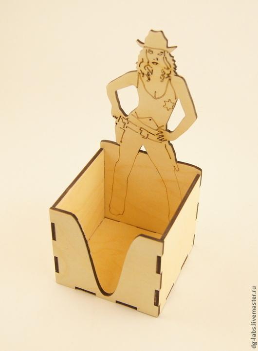 Пеналы ручной работы. Ярмарка Мастеров - ручная работа. Купить Подставка-бокс для блока бумаг для записей. Handmade. Подставка для бумаг