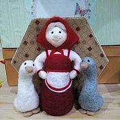 """Куклы и игрушки ручной работы. Ярмарка Мастеров - ручная работа Сказка """"Жили у бабуси"""". Handmade."""