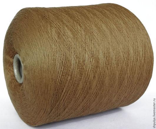 Lineapiu Nm 2/28 (1400 м в 100 г) Кашемир 100 % Цвет: бежевый, золотистый, теплый, верблюжий.  Размотка бесплатно.