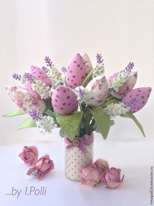"""Куклы Тильды ручной работы. Ярмарка Мастеров - ручная работа. Купить Тюльпаны """"Нежность весны"""". Handmade. Брусничный, тюльпаны тильда"""
