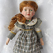 Винтаж ручной работы. Ярмарка Мастеров - ручная работа винтажная кукла. Handmade.