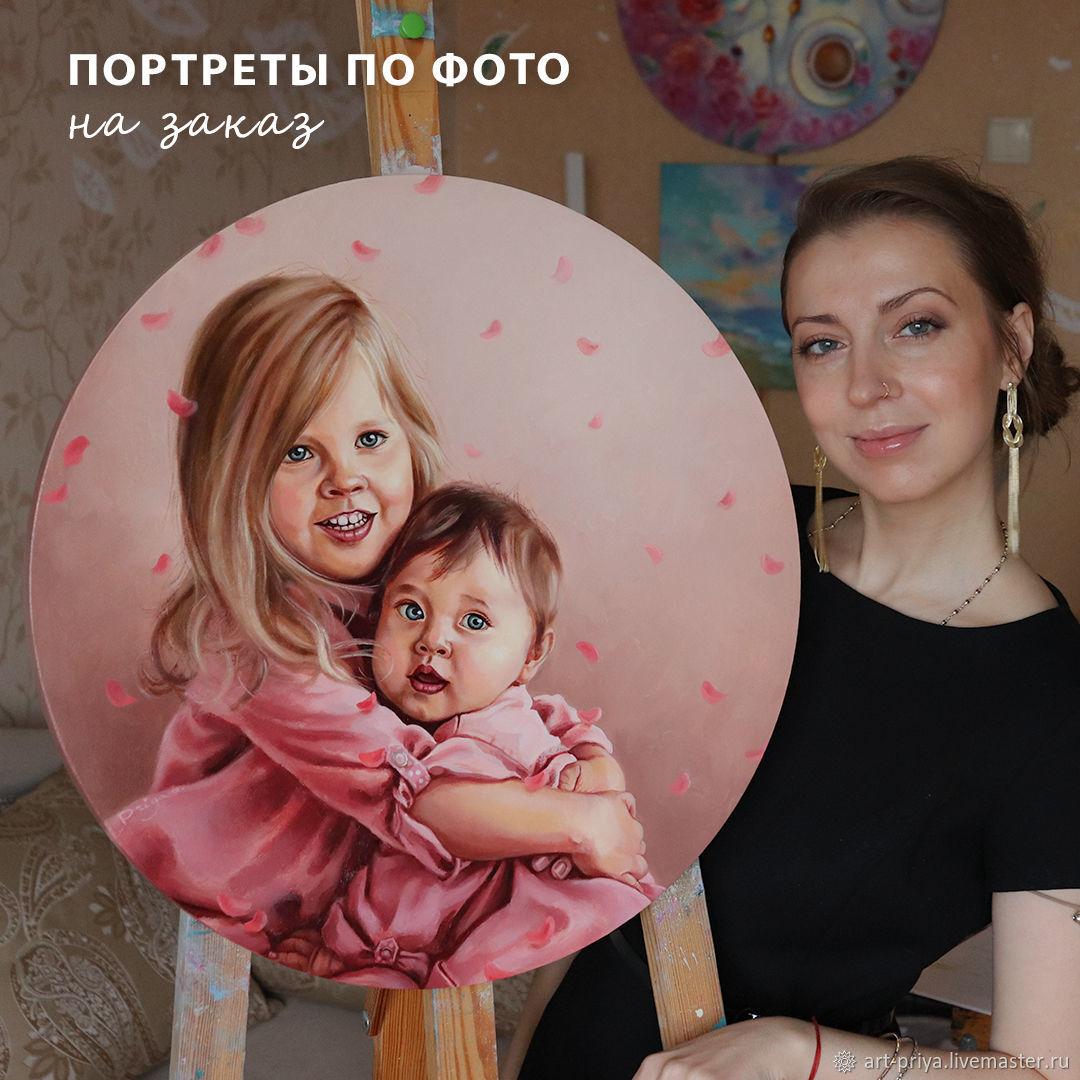Портрет на заказ масло/холст, Картины, Минск,  Фото №1