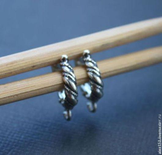 Для украшений ручной работы. Ярмарка Мастеров - ручная работа. Купить Швензы ЧАЛМА ( окс) 18х 4 мм серебро 925. Handmade.