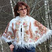 Одежда handmade. Livemaster - original item Cape - poncho-small
