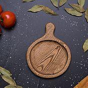 Для дома и интерьера handmade. Livemaster - original item Wooden Board for serving