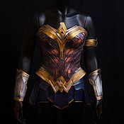 Suits handmade. Livemaster - original item Costume for cosplay of Wonder Woman. Handmade.