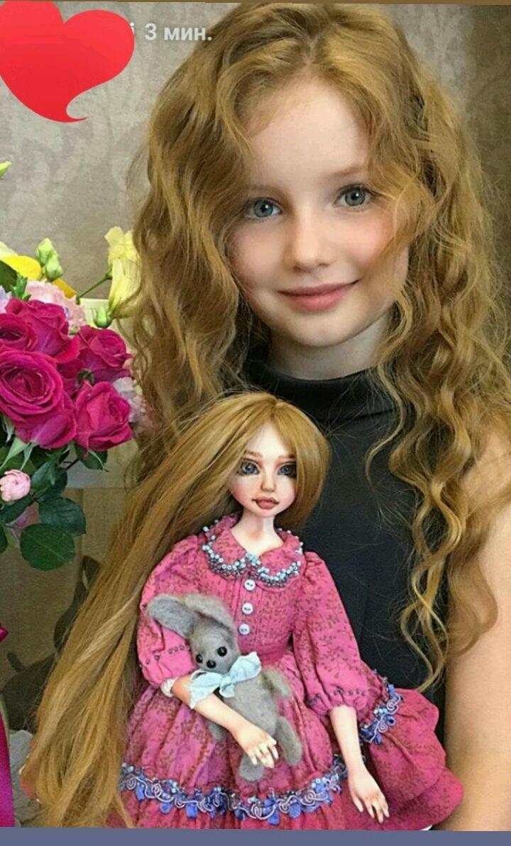 портретная кукла на заказ по фотографии ожидала более грязных