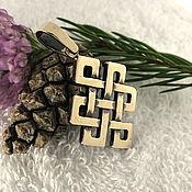 Фен-шуй и эзотерика handmade. Livemaster - original item Amulet Knot Of Happiness. Amulets amulets in bronze. Handmade.