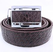 Аксессуары handmade. Livemaster - original item Crocodile leather belt IMA3005K. Handmade.