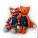 Knitted toy. Fox. Stuffed Toys. GALAtoys. My Livemaster. Фото №4