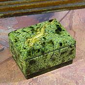 Сувениры и подарки handmade. Livemaster - original item Coil box (Ural)(SHKZ0). pcs. Handmade.