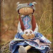 Куклы и игрушки ручной работы. Ярмарка Мастеров - ручная работа Ангел тихого счастья или Девочка с совой. Ароматизированная кукла.. Handmade.