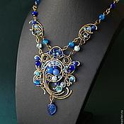 Украшения handmade. Livemaster - original item Necklace Jamilya. Handmade.