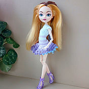 Куклы и игрушки handmade. Livemaster - original item Knitted clothes for ever after high doll. Handmade.