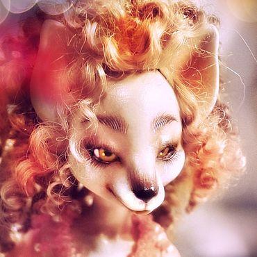 Куклы и игрушки ручной работы. Ярмарка Мастеров - ручная работа Куклы: Лиса Шарнирная bjd (полиуретан) коллекционная. Handmade.