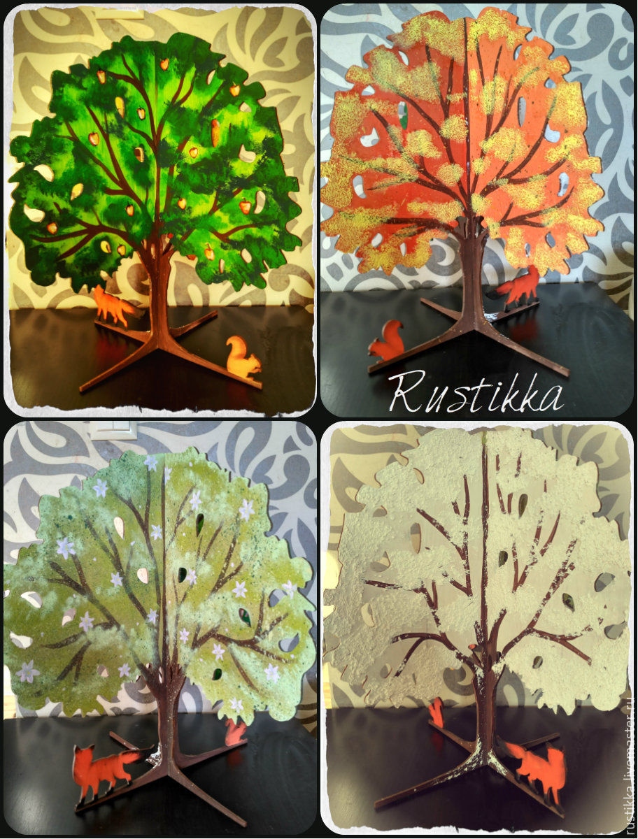 Дерево 4 сезона