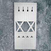 Для дома и интерьера handmade. Livemaster - original item Clothes hanger wall