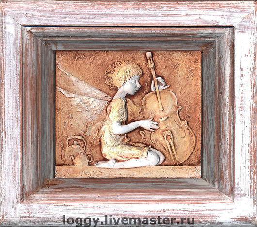 Символизм ручной работы. Ярмарка Мастеров - ручная работа. Купить панно Ангел. Handmade. Ангел, сувениры и подарки, дача