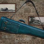 Сумки и аксессуары handmade. Livemaster - original item Coffer leather full-size carbine BLASER R93, mod.2. Handmade.