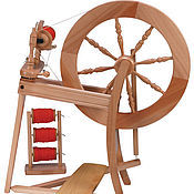 Материалы для творчества handmade. Livemaster - original item Spinning wheel Traditional one-or two-drive. Handmade.