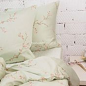 Для дома и интерьера handmade. Livemaster - original item Handmade bedding. Duvet cover set. Unique bed linen bedding set. Handmade.
