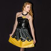 Одежда handmade. Livemaster - original item Skirt genuine leather Eclipse. Handmade.
