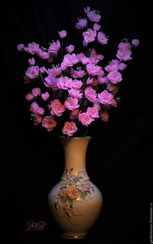 Интерьерные композиции ручной работы. Ярмарка Мастеров - ручная работа. Купить Сакура. Ветки в цвету. (без вазы). Handmade. Розовый