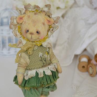 Куклы и игрушки ручной работы. Ярмарка Мастеров - ручная работа Жираф тедди примитив Ромашкова Машка. Handmade.