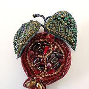 handmade. Livemaster - original item Brooch - Garnet.. Handmade.