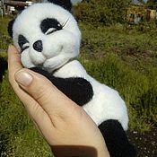 Куклы и игрушки ручной работы. Ярмарка Мастеров - ручная работа Панда мечтательница. Handmade.