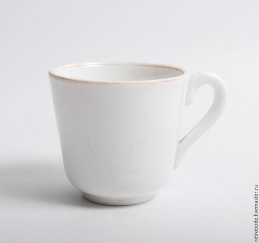 Винтажная посуда. Ярмарка Мастеров - ручная работа. Купить Фарфоровая чашка, кружка Кузнецов, старинный фарфор. Handmade. Белый, классика