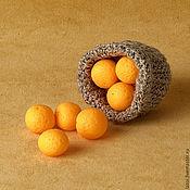 Куклы и игрушки ручной работы. Ярмарка Мастеров - ручная работа Апельсины-мандарины. Handmade.