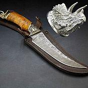 Сувениры и подарки handmade. Livemaster - original item Dinosaur Knife. Handmade.