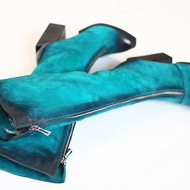 Обувь ручной работы. Ярмарка Мастеров - ручная работа Сапоги деми. Handmade.