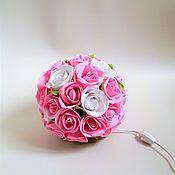 Для дома и интерьера handmade. Livemaster - original item Energy saving lamp Ball. Handmade.