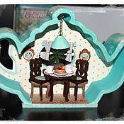 Куклы и игрушки ручной работы. Ярмарка Мастеров - ручная работа Чайный домик. Handmade.